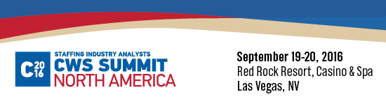 CWS Summit North America | September 19-20, 2016 | Red Rock Resort, Casino & Spa, Las Vegas